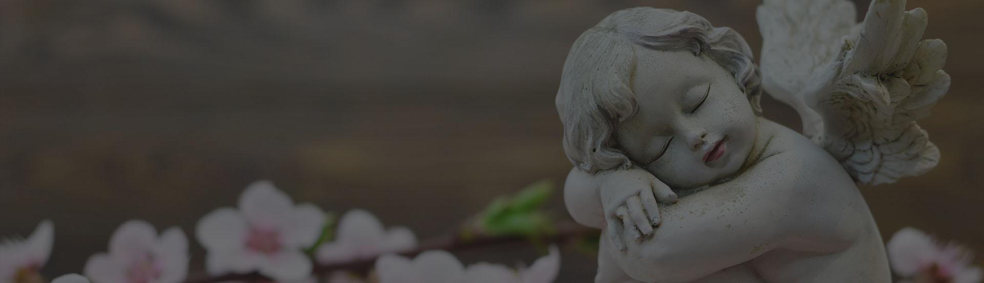 kamienny anioł
